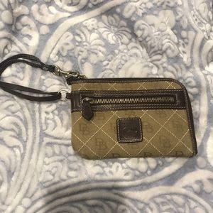 Dooney & Bourke wristlet wallet/card holder